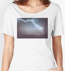 Storm Clouds and Lightning Women's Relaxed Fit T-Shirt