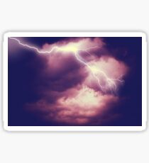 Storm Clouds and Lightning 3 Sticker