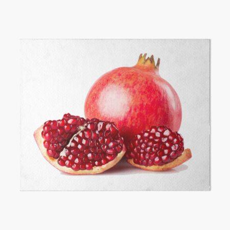 Red pomegranate juice lovers Art Board Print