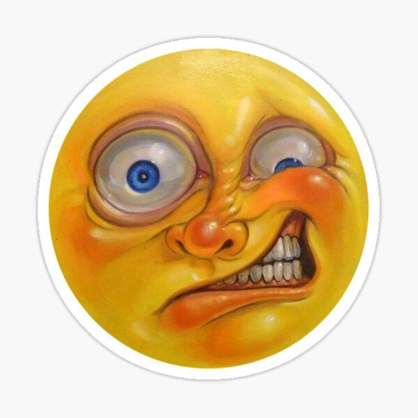 Yellow Jelly Head Sticker