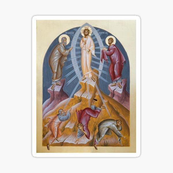 Transfiguration of Christ Sticker