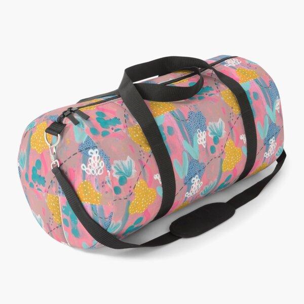 Neon Coral Reef Painting Duffle Bag