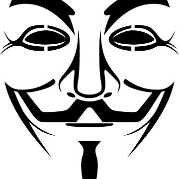 Anonymous Guy Fawkes Protest V For Vendetta by ianmca