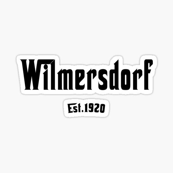 Berliner Stadtbezirk Wilmersdorf  Kult Geschenk Sticker