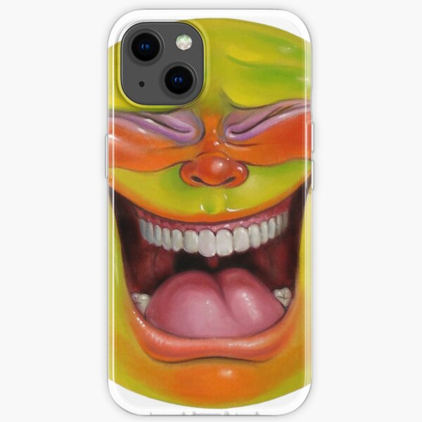 Green Jelly Head 2 iPhone Soft Case