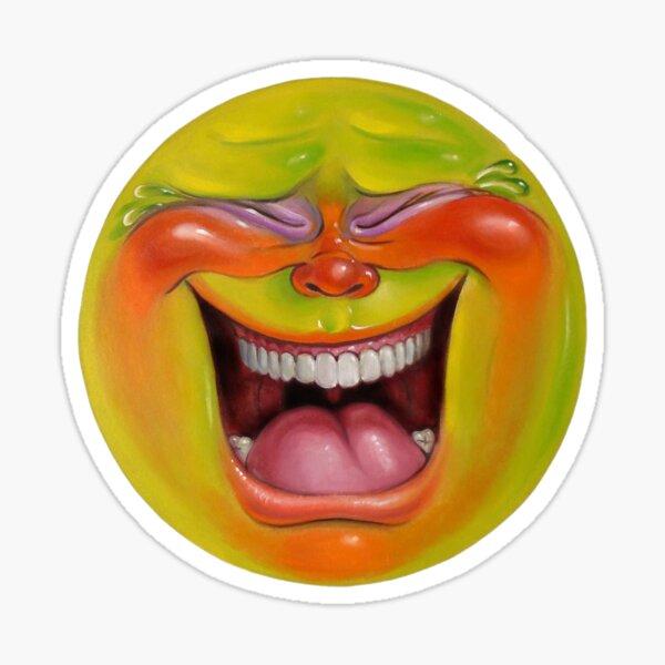 Green Jelly Head 2 Sticker