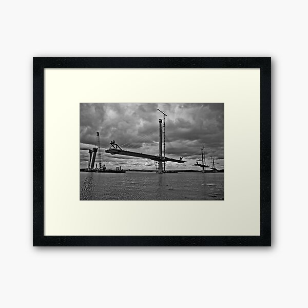 Queensferry Crossing Framed Art Print