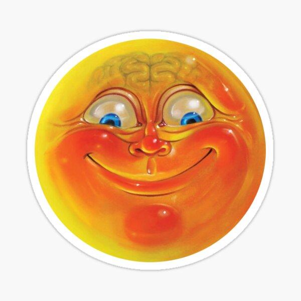 Orange Jelly Head Sticker