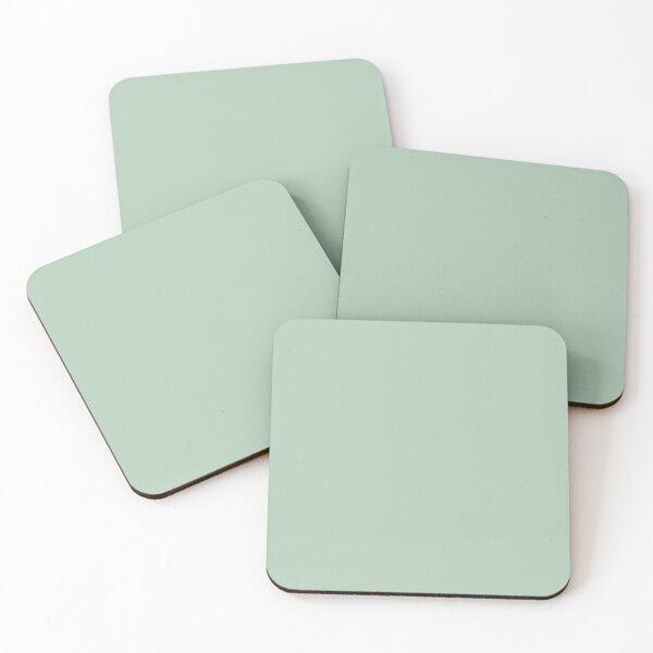 Sage Green Coasters (Set of 4)
