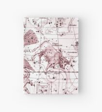 Astrology in Red Hardcover Journal