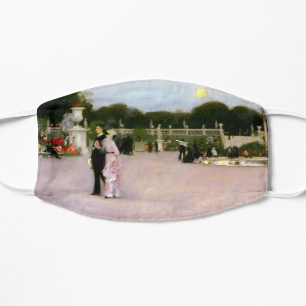 John Singer Sargent In the Luxembourg Gardens Flat Mask