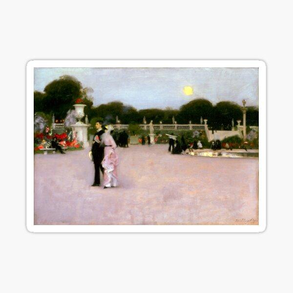 John Singer Sargent In the Luxembourg Gardens Sticker