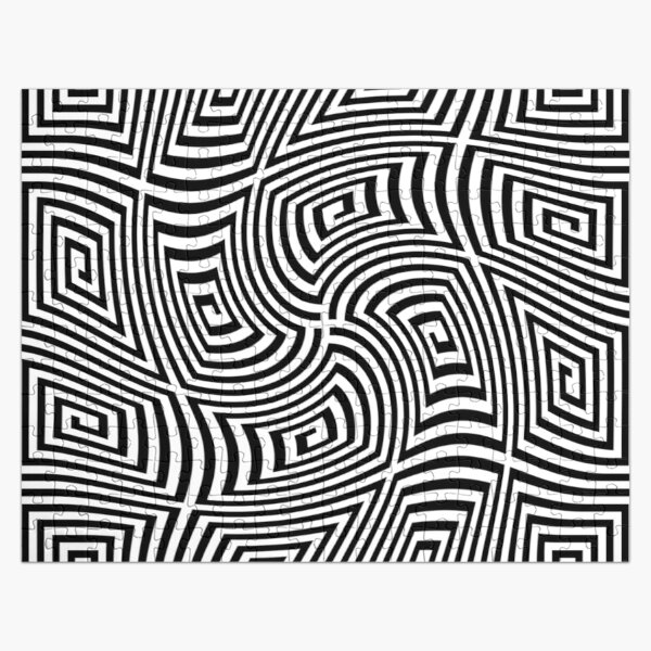 #Optical #illusions, #Visual illusion, Optical #Art Jigsaw Puzzle