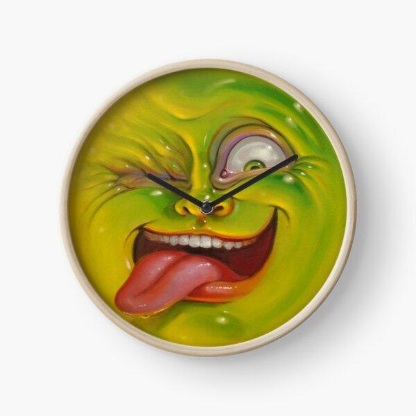 Green Jelly Head Clock