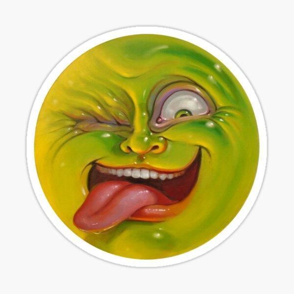 Green Jelly Head Sticker
