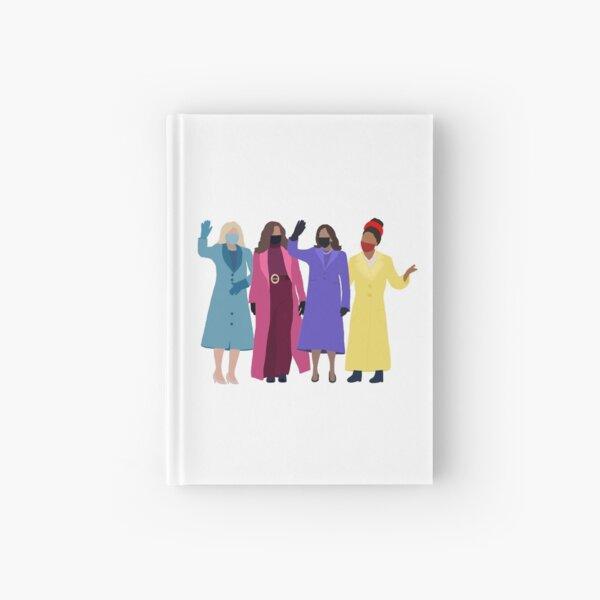 Jill Biden, Michelle Obama, Kamala Harris, Amanda Gorman Inauguration 2021 Hardcover Journal