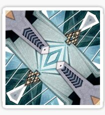 City Buildings Abstract 3 Sticker