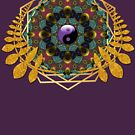 Yin Yang Balance | Geometry Mandala by webgrrl