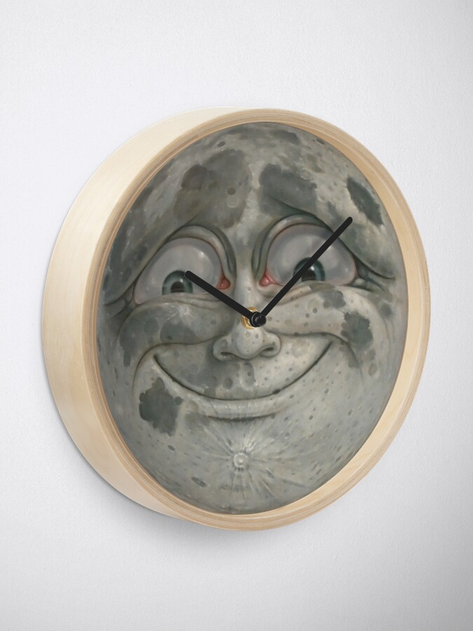 Alternate view of Moon Face Clock