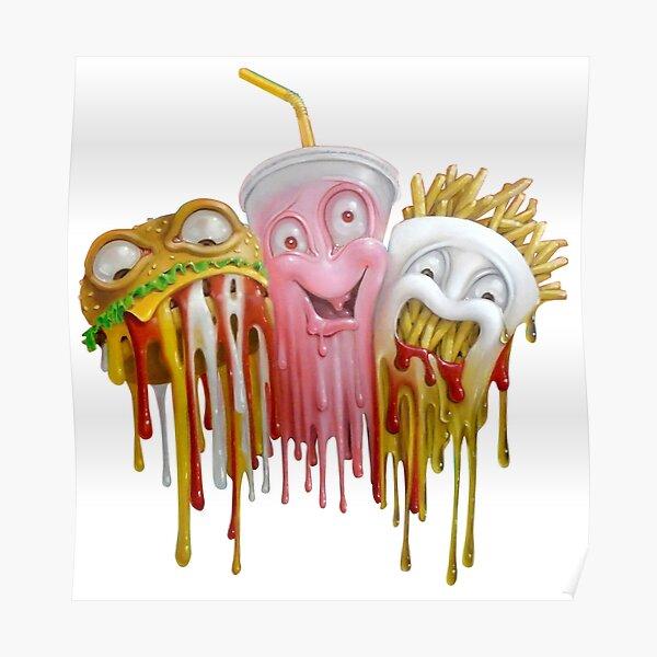 Junk Food Poster