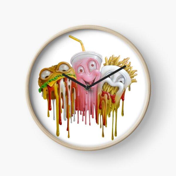 Junk Food Clock