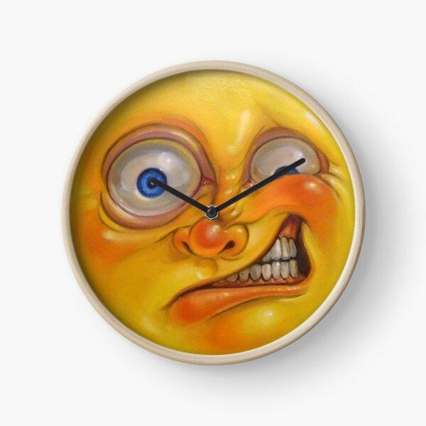 Yellow Jelly Head Clock