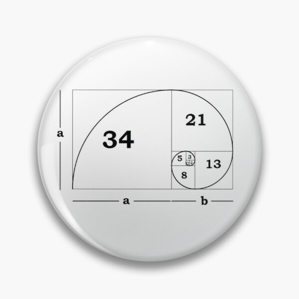 #Golden #Ratio #GoldenRatio #Design Ideas Fibonacci Spiral = 1.6180339887498948420 Pin
