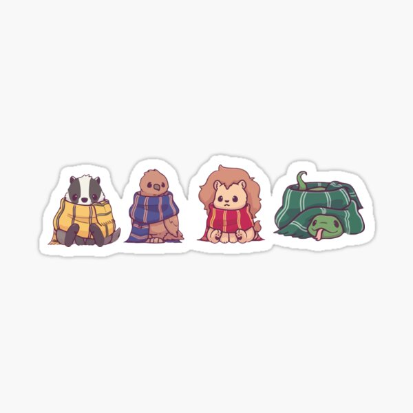 magical animals harry Sticker