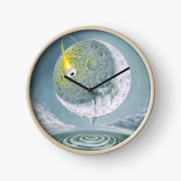 Freak Out in a Man-in-the-Moonage Daydream Clock