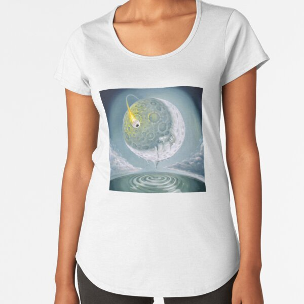 Freak Out in a Man-in-the-Moonage Daydream Premium Scoop T-Shirt