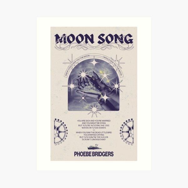 Moon Song - Phoebe Bridgers Poster Art Print