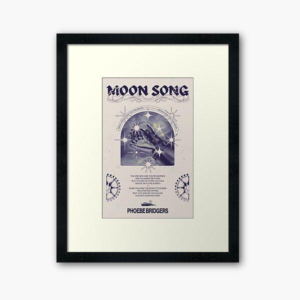 Moon Song - Phoebe Bridgers Poster Framed Art Print