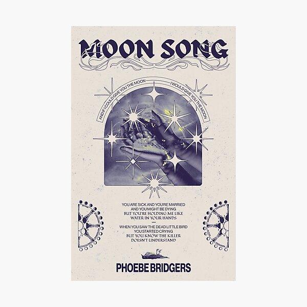 Moon Song - Phoebe Bridgers Poster Photographic Print