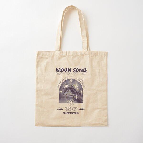 Moon Song - Phoebe Bridgers Poster Cotton Tote Bag