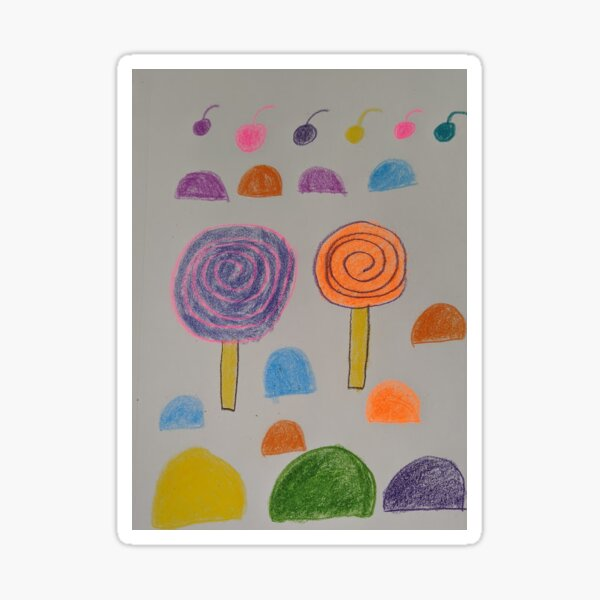 colorful candy Sticker