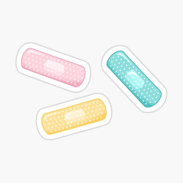 Pastel Plasters Sticker