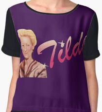 Tilda Swinton (Kimmy Schmidt) Women's Chiffon Top