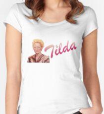 Tilda Swinton (Kimmy Schmidt) Women's Fitted Scoop T-Shirt