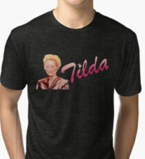 Tilda Swinton (Kimmy Schmidt) Tri-blend T-Shirt