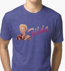 Tilda Swinton (Kimmy Schmidt) Tri-blend T-Shirt