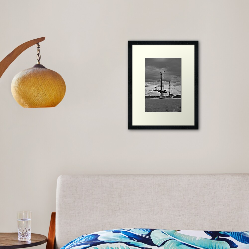 Queensferry Crossing Framed Art Print