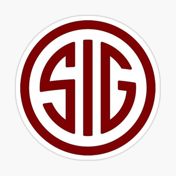 Logo Sig Sauer Sticker