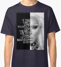 Ru Paul Text Portrait Classic T-Shirt