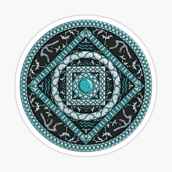 Aquarius Mandala Sticker