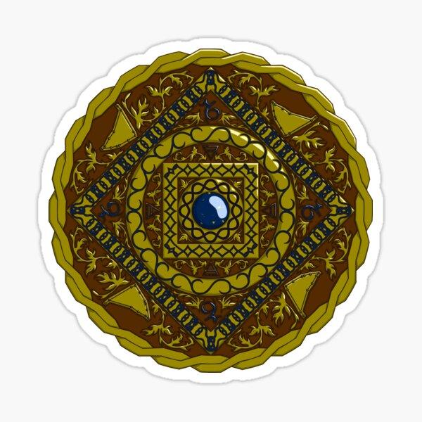 Capricorn Mandala Sticker