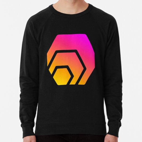 HEX Crypto Hexagon Logo T-Shirt Lightweight Sweatshirt