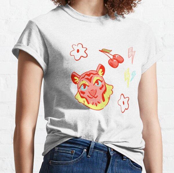 Tiger + Doodles Classic T-Shirt