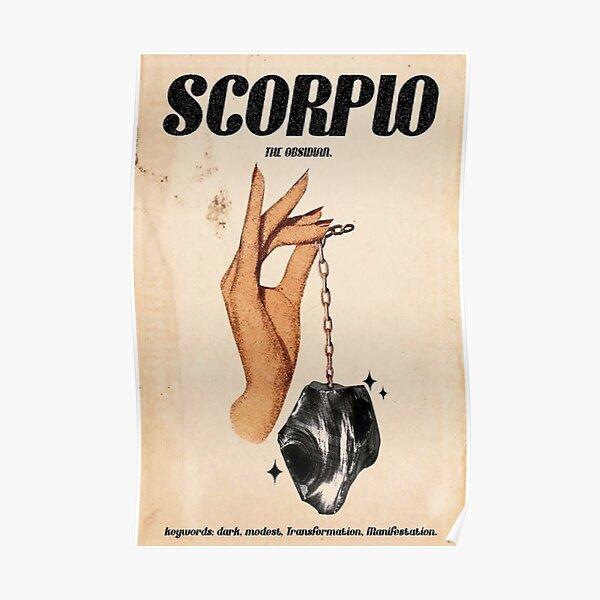 Scorpio Zodiac Poster Poster