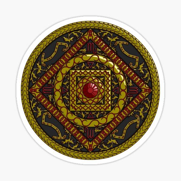 Scorpio Mandala Sticker