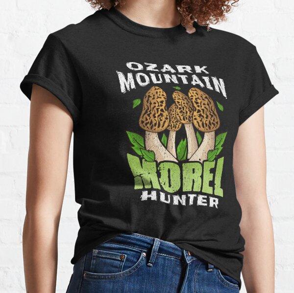 OZARK MOUNTAIN MOREL HUNTER | Mushroom Foraging Classic T-Shirt